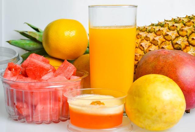 šťáva z ovoce