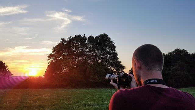 fotograf a slunce