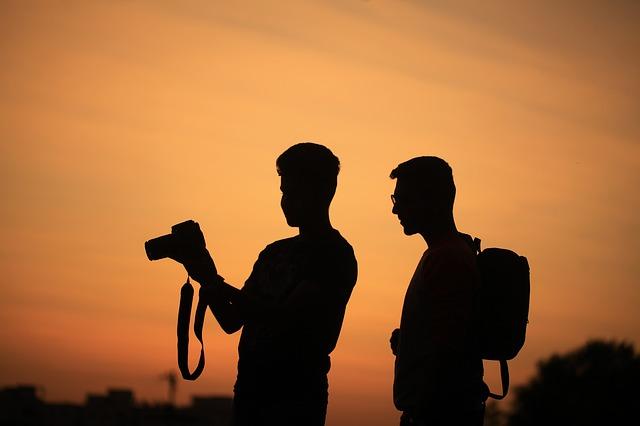 fotografové večer