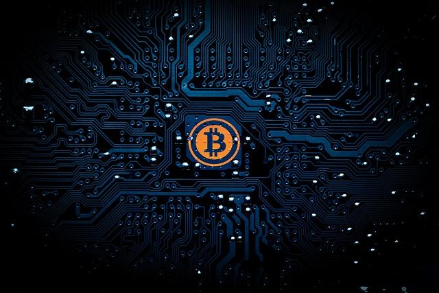 bitcoin v síti