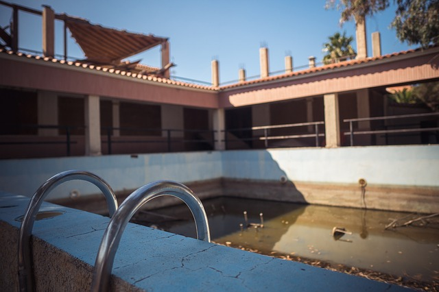 zazimování bazénu