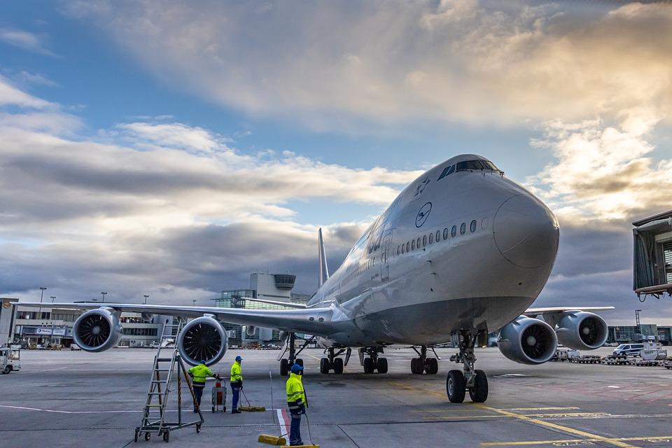 stojící letadlo